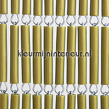 Goud recht fly curtains wood look