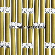 Goud fly curtains wood look