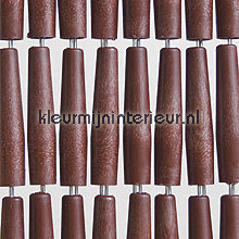 Luxe mahonie recht fly curtains wood look
