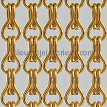 Aluminium oranje cortinas antimoscas pvc lamel
