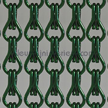 Aluminium groen cortinas antimoscas pvc lamel