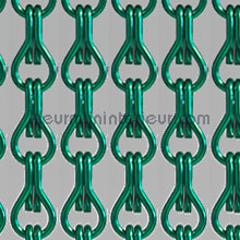 Aluminium licht groen vliegengordijnen Aluminium ketting Uni