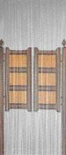 Klapdeuren fly curtains synthetic thread