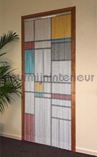 mondriaan rideaux de porte M9987 mondriaan Aluminum chain