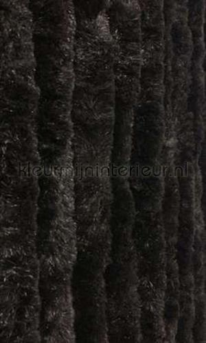 kattenstaart zwart cortinas antimoscas KAT 9 - zwart effen cats tail
