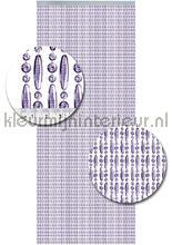 koral transparant paars verspringend vliegengordijnen kralen paars transparant verspringend Kleurmijninterieur
