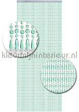 Koral transparant turquoise recht tende per porte kralen transparant turkoise recht Fly curtains top 15
