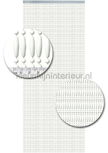 koral uni wit recht cortinas antimoscas Kralen wit recht miçangas