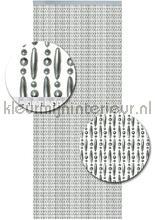 Koral metallic grijs verspringend cortinas antimoscas kralen metallic grijs verspringend miçangas